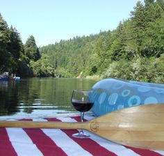 Guerneville Vacation Rental - VRBO 400934 - 3 BR Russian River House in CA, Best Value on the River - Amazing Setting - Great Views
