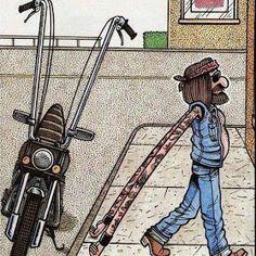 Modif sepeda dengan letak setang yg tinggi mempengaruhi panjang tangan seseorang :D ada ada aja