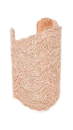 Aurelie Bidermann Lace Cuff - rose gold. I know rose gold didn't go well with my dress but I think this would look beautiful with the lace.