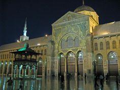 Mosque Umayyad in Damas, Syria