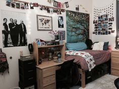 Literally an entire tumblr just for cool dorm rooms