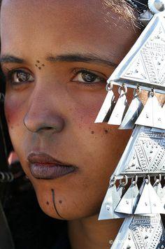 Africa | Tuareg woman. Tamanrasset, Algeria | ©David Santiago
