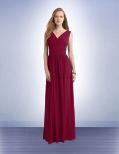 Bridesmaid Dress Style 1129 - Bridesmaid Dresses by Bill Levkoff Cranberry Bridesmaid Dresses, Bridesmaid Dress Styles, Formal Dresses, Wedding Dresses, Fashion, Dresses For Formal, Bride Dresses, Moda, Bridal Gowns