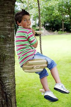 alternative for tire swing Fun Outdoor Games, Outdoor Play, Fun Games, Activities For Kids, Crafts For Kids, Outside Games, Girl Scouts, Summer Fun, Cute Kids