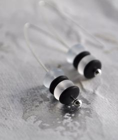 Pierrot Earrings by DeniseDion on Etsy, $10.00