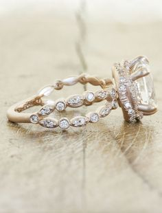 some of the most beautiful rings I have ever seen.   Ken & Dana Design