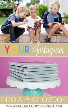 I can't believe how simple it was to turn my Instagram Photos into a Photo Book! I love that have these memories for my kids. Learn how on Frugal Coupon Living.
