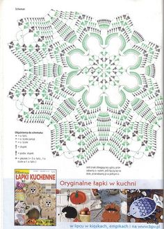 Crochet Doily Diagram, Crochet Doily Patterns, Crochet Chart, Thread Crochet, Filet Crochet, Crochet Motif, Crochet Dollies, Crochet Potholders, Crochet Tablecloth