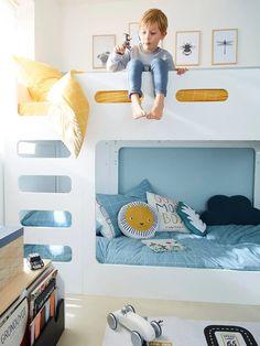 Une chambre organisée et bien rangée pour la rentrée #chambre #décoration #home #homesweethome #kidroom Fuji, Toddler Bed, Kids Rugs, Design, Furniture, Home Decor, Low Bunk Beds, Child Room, Fishing Line