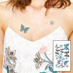 butterfly fake tattoo, Tattoo, Temporary Tattoo, Tattoo Sticker, Sticker #faketattoo#Tattoo#TemporaryTattoo#TattooSticker#Sticker #TemporaryTattoo Black White Tattoos, Black Ink Tattoos, Large Tattoos, Grey Tattoo, Unique Tattoos, Body Art Tattoos, Neon Tattoo, Tattoo Goo, Tattoo Henna