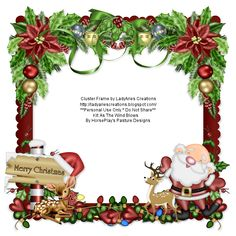 LadyAries' Creations: Merry Christmas Cluster