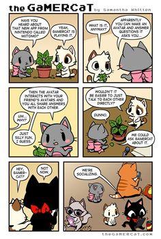 the GaMERCaT :: Social Games   Tapastic Comics - image 1