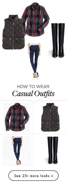 """""""Casual Winter"""" by unemerefiere on Polyvore featuring J.Crew, Madewell and Chloé"""