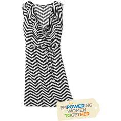 Nirmal for Full Circle Exchange Women's Cowl Neck Dress (Walmart..less than $25) @Wendy Bivins