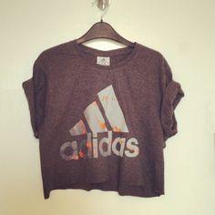 Vintage Adidas RENEWAL crop t shirt XS S M 8 10 12 | eBay £0.99 start!