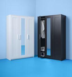 BRIMNES kledingkast | IKEAcatalogus nieuw 2018 IKEA IKEAnl IKEAnederland kast kleding slaapkamer inspiratie wooninspiratie interieur wooninterieur opbergen opberger opbergmeubel