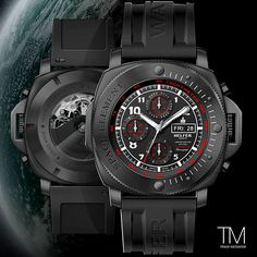 If you have a passion for traveling and visiting new places and cultures, then the Helfer Space Element #watch is for you. HAPPY FRIDAY! $2490.00 #trademediator #helferwatches #spaceelement #timepiece