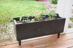 drawer to planter