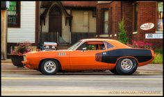 Pro-street 1971 Plymouth Barracuda 440