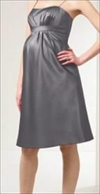 Alfred Angelo Maternity Dress - Charcoal - Size     Price: $75.00