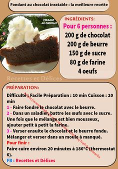 Chocolate Chocolate Fondant: The Best Recipe Waffle Recipe Without Butter, Small Batch Waffle Recipe, Waffle Recipe No Milk, Easy Belgian Waffle Recipe, Best Waffle Recipe, Breakfast Waffle Recipes, Fresh Fruit Cake, Fruit Cakes, Dessert