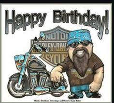 Photo Happy Birthday Wishes Happy Birthday Quotes Happy Birthday Messages From Birthday Happy Birthday Harley Davidson, Happy Birthday Biker, Birthday Wishes Funny, Happy Birthday Messages, Happy Birthday Greetings, Birthday Quotes, Happy Birthday Cousin Male, Funny Birthday Message, Motorcycle Birthday