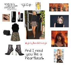 """""""Taylor Swift 😍🙌 New Blog Post today 😘❤️"""" by handlethisstyle ❤ liked on Polyvore featuring Disney, Yves Saint Laurent, Chanel, Christian Dior and Steve Madden"""