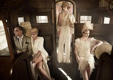 Inspired by Australia's Next Top Model 1920s Shoot, We Get The Great Gatsby Look via ShopStyle Australia