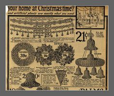 Another 1916 Sears Christmas page, top half, best viewed large by mcudeque, via Flickr