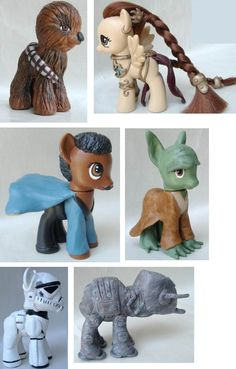 "My Little Star Wars Ponies, colecciónalos » No Puedo Creer ""These look a little bit different mom,"" said my 4 y/o."