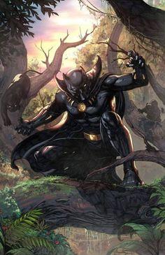 Something Marvel? Something Dc? Bit of both! Black Panther Marvel, Film Black Panther, Black Panther King, Hq Marvel, Marvel Heroes, Marvel Cinematic, Marvel Comics, Comic Book Heroes, Comic Books Art