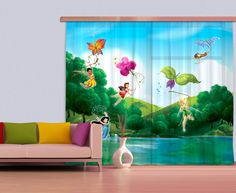 Disney Fairytale window curtain. New Curtains Collection By WallandMore!