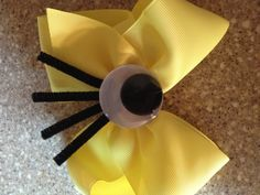 Minion bow I made :)