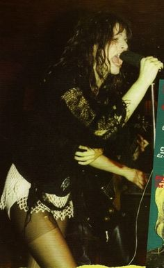 Ari Up of The Slits on stage, circa 1977.