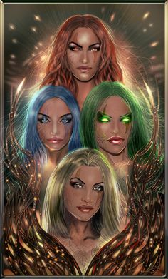 "Elements:  ""4 Elements,"" by cantas78, at deviantART."