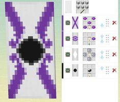 Minecraft Banner Patterns, Cool Minecraft Banners, Minecraft Funny, Amazing Minecraft, Minecraft Crafting Recipes, Minecraft Creations, Minecraft Crafts, Minecraft Designs, Minecraft Architecture