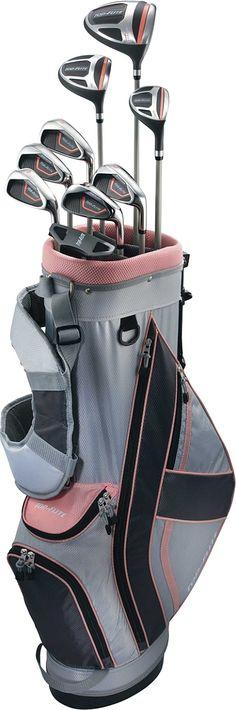 Top Flite Women's XL Complete Set - Gray/Pink | Golf Galaxy