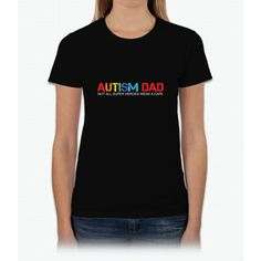 Autism Dad Womens T-Shirt