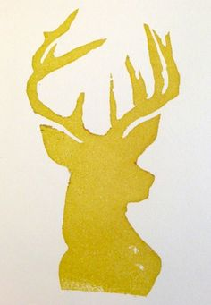 Oh deer! Sketched and carved by Shannon West.