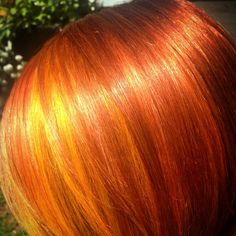 Copper hair color by Heidi Kenney