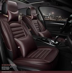 99.99$  Buy here - http://ali0w4.worldwells.pw/go.php?t=32578414924 - for bmw 3 5 7 series x1 x3 x5 x6 m3 m6 brand black brown pu leather car seat cover front and back Complete set car cushion cover
