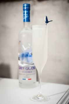 GREY GOOSE Le Fizz at Eat Ento, London. Achieve the extraordinary. #FlyBeyond