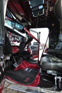 Black cherry interior