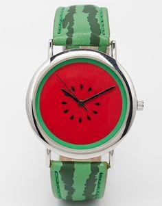 Image 1 ofASOS Watermelon Watch