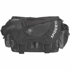 Spiderwire Wolf Tackle Bag, Black at http://suliaszone.com/spiderwire-wolf-tackle-bag-black/