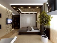 5 Simple and Impressive Ideas Can Change Your Life: Wooden False Ceiling Design false ceiling bedroom classic. House Ceiling Design, Ceiling Design Living Room, Bedroom False Ceiling Design, False Ceiling Living Room, Bedroom Ceiling, False Ceiling Ideas, Room Design Bedroom, Bedroom Furniture Design, Modern Bedroom Design