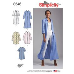 Simplicity Sewing Patterns, Dress Sewing Patterns, Clothing Patterns, Skirt Patterns, Coat Patterns, Blouse Patterns, Petite Dresses, Patron Simplicity, Sewing Patterns