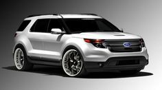 Ford has announced that the new sports model corssover Explorer Sport will be available at a price of 33,000 euros / 43000 us Dollars, for the basic model. The key difference of this model compared to other models in the line are its twin-turbo 3.5L V6 engine with over 350ks who shared with model Taurus SHO. Also, this model has recei