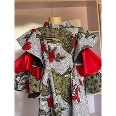 Wedding Dress Sleeves, Wedding Dresses, Aichi, African Attire, Ankara, African Fashion, Charlotte, Peplum, Kimono Top