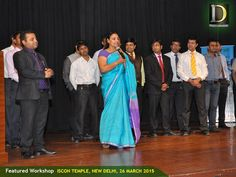 Dynamic India Group has organised a featured workshop on April 19, 2015 at ISCON Temple Auditorium, New Delhi. The Response was amazing and overwhelming. It was a successful event.